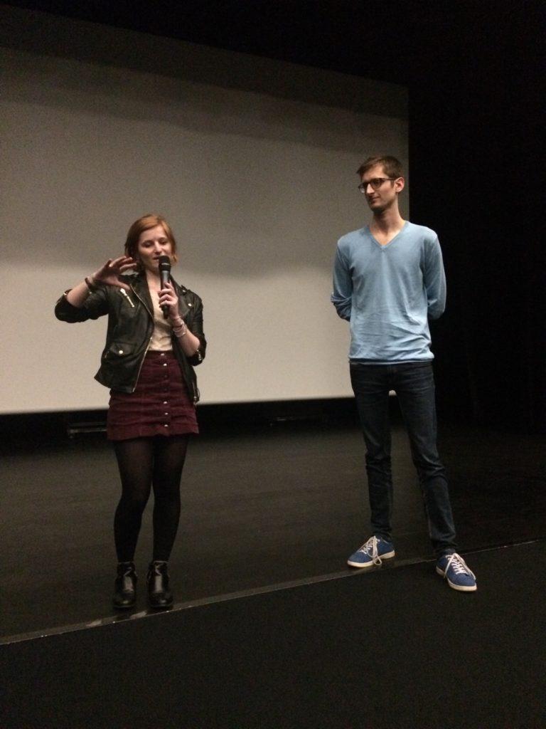 Jeunes intervenants professionnels du cinéma